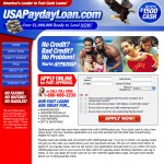 USAPaydayLoan.com : Web Design